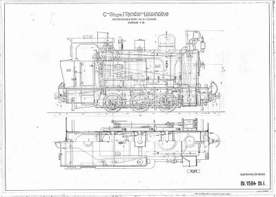 C-Tender-Lokomotive (17369, 19979)