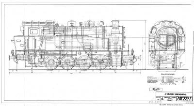 D-Tender-Lokomotive (25274)