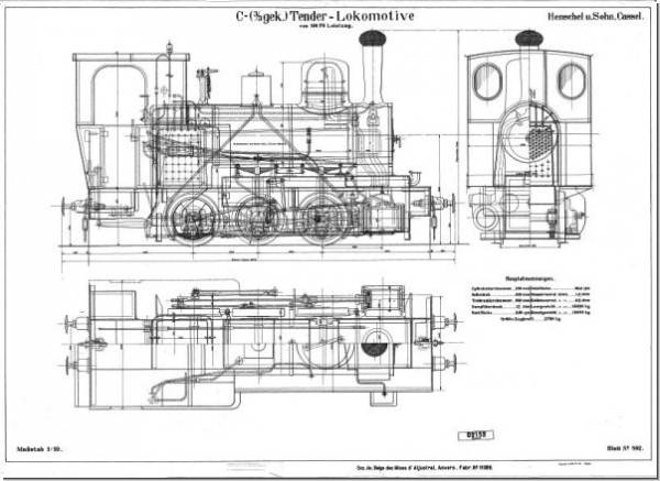 C-Tender-Lokomotive (11089)